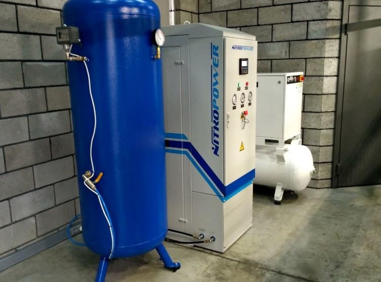 Принцип работы азотного генератора