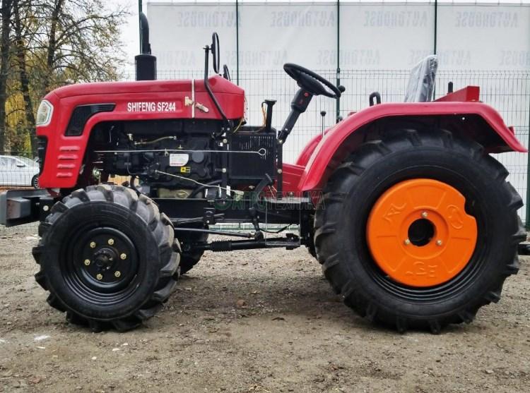 Модели мощных мини-тракторов