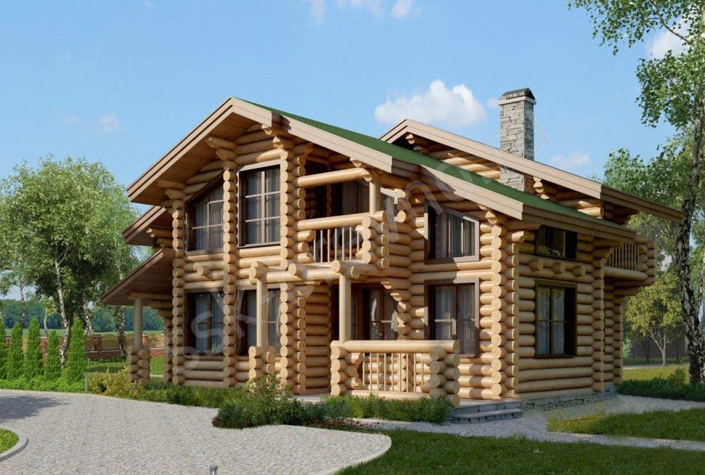 Современные проекты домов из дерева вам окажет наша строительная компания