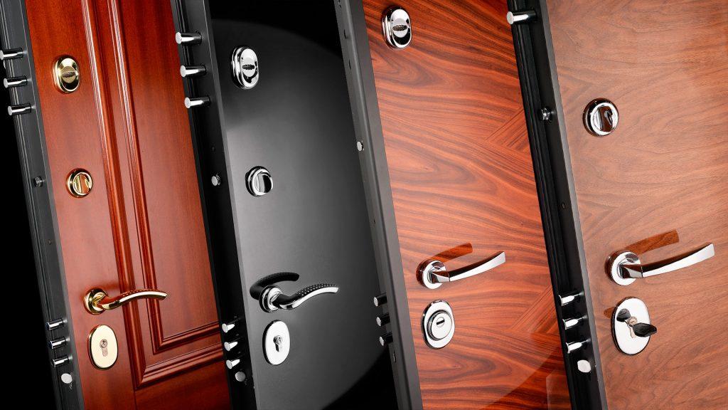 Входные металлические двери: красиво и надежно