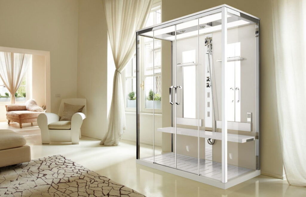 Гидробоксы для ванной – простое решение